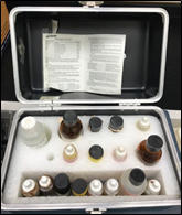 chemical test kit
