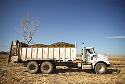 manure truck delivery